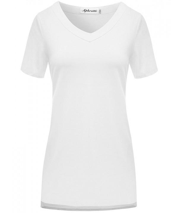 Aphratti Womens Sleeve Pockets XX Large