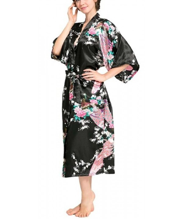 SexyTown Womens Peacock Nightwear Pockets