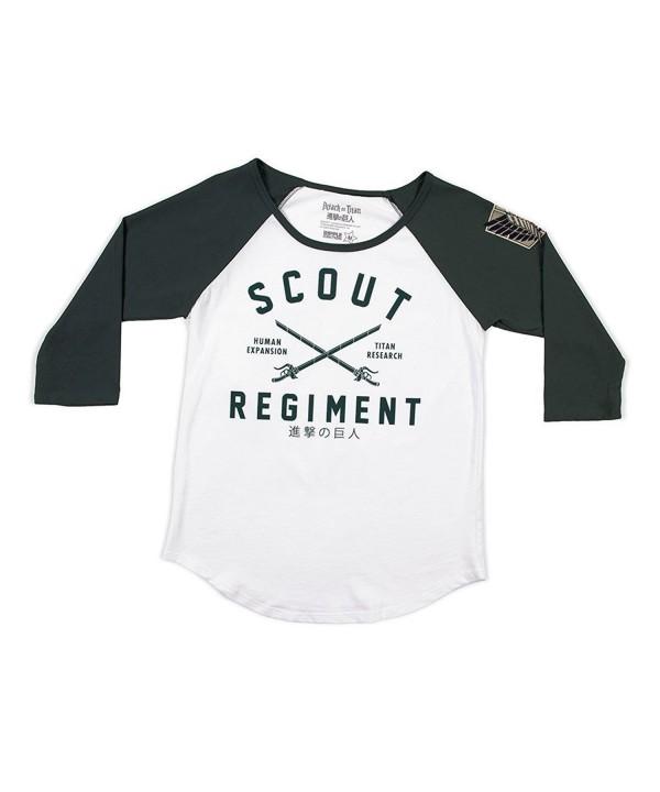 Attack Scount Regiment Sleeve Baseball