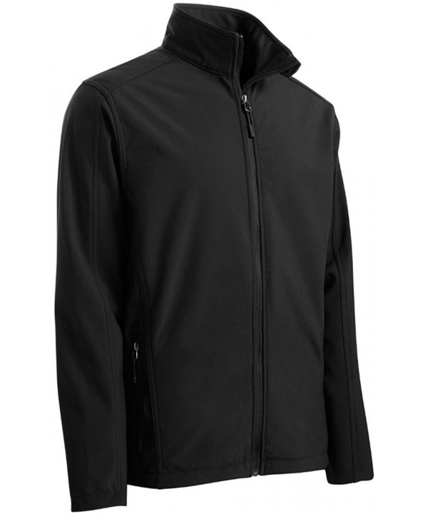 Joes USA Mens Shell Jacket Black 3XLT