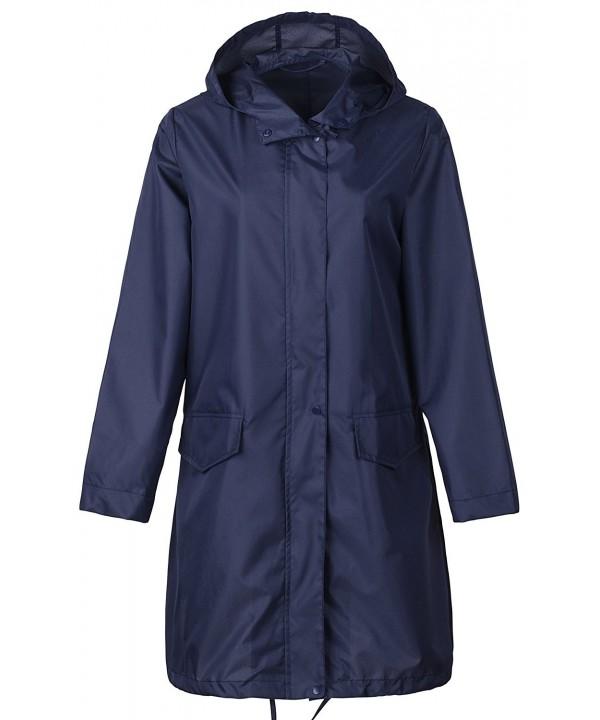 QZUnique Packable Waterproof Outdoor Raincoat