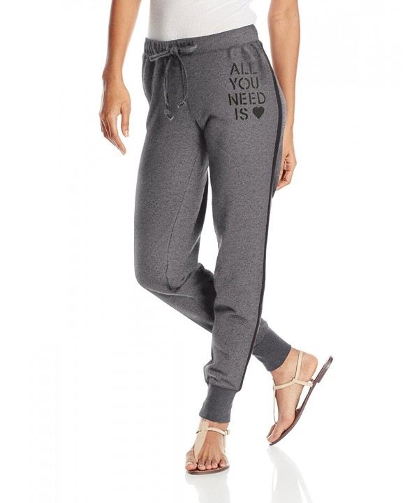 Life Womens Marled Jogger Medium