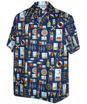 Nautical Sailing Lighthouses Hawaiian Shirt