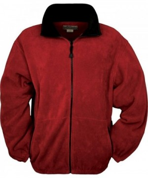 Discount Real Men's Fleece Coats Wholesale