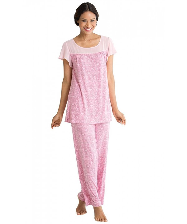 PajamaGram Womens Downton Abbey Pajama