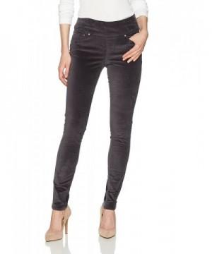 Jag Jeans Womens Velveteen Titanium
