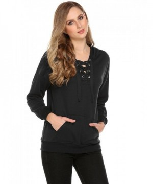 Dongba Hooded Sweatershirt Straps Pullover