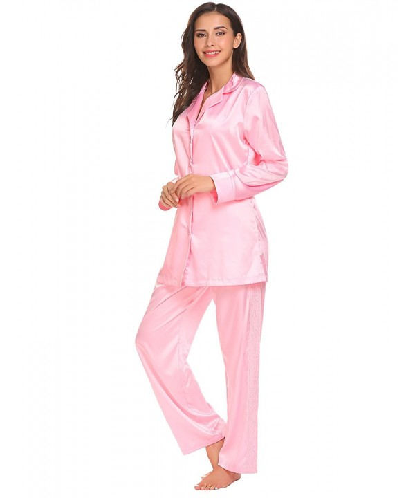etuoji Ladies Sleepwear Sleeves Pajama