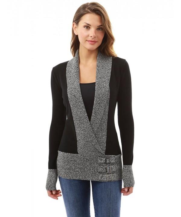 PattyBoutik Womens Embellish Pullover Sweater