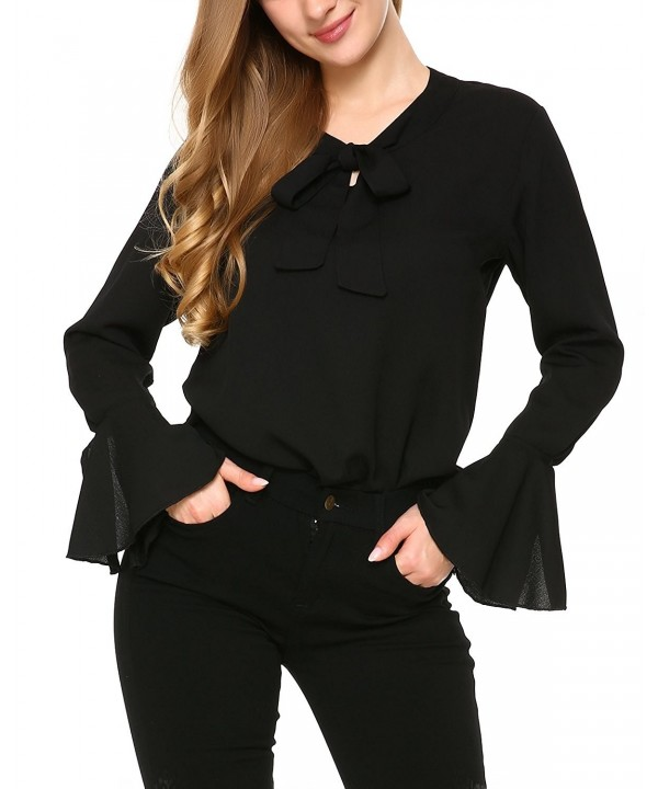 Mixfeer Womens Sleeve Casual Blouse