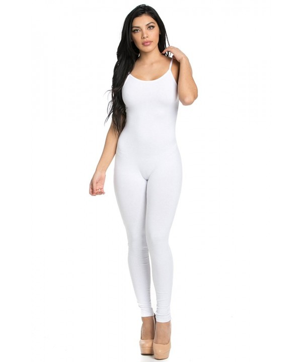 Staand Apparel Spaghetti Catsuit Jumpsuit