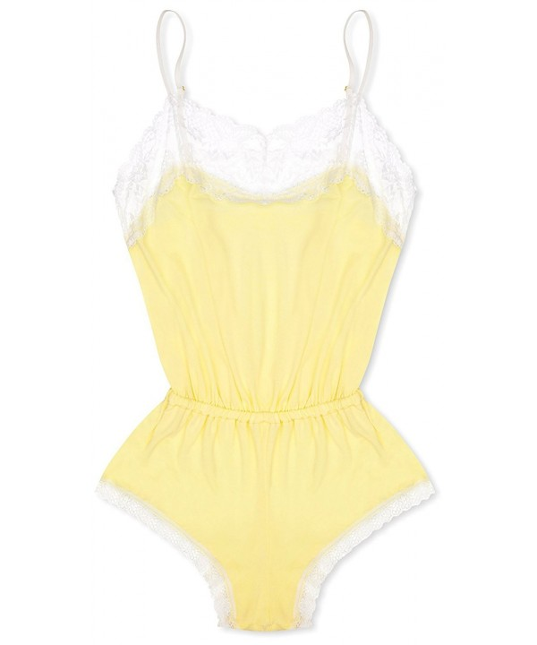 cheekfrills Womens Pastel Teddy Yellow