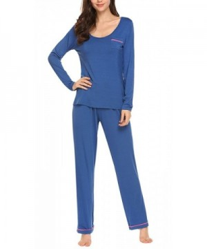 Sweetnight Pockets Elastic Sleepwear Nightgowns