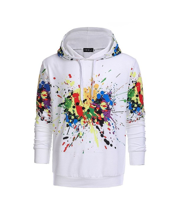HEQU Digital Printed Drawstring Hoodies