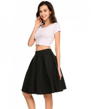 2455bdaa0b4c5f Shine Pleated Vintage Waisted Skirts; Brand Original Women's Skirts for ...