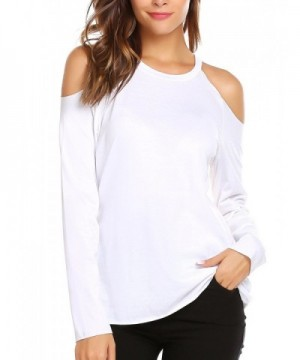 Womens Casual Sleeve Shoulder T shirt