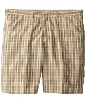 Haggar Big Tall Expandable Waist Windowpane