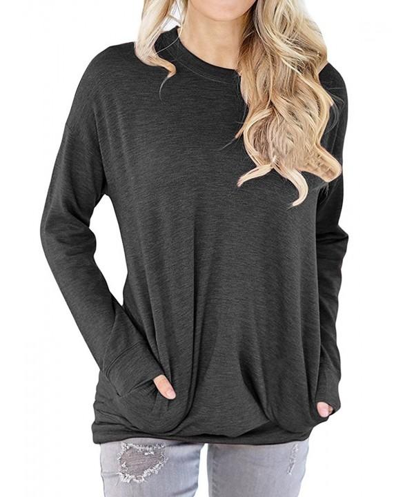 Dutebare Sleeve Sweatshirt Casual Pullover