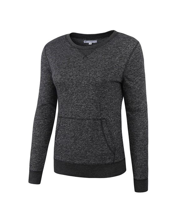 HARBETH Fashion Pullover Sweatshirt Melange