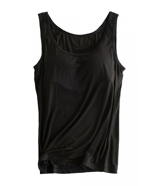 Cutiefox Womens Solid Padded Camisole