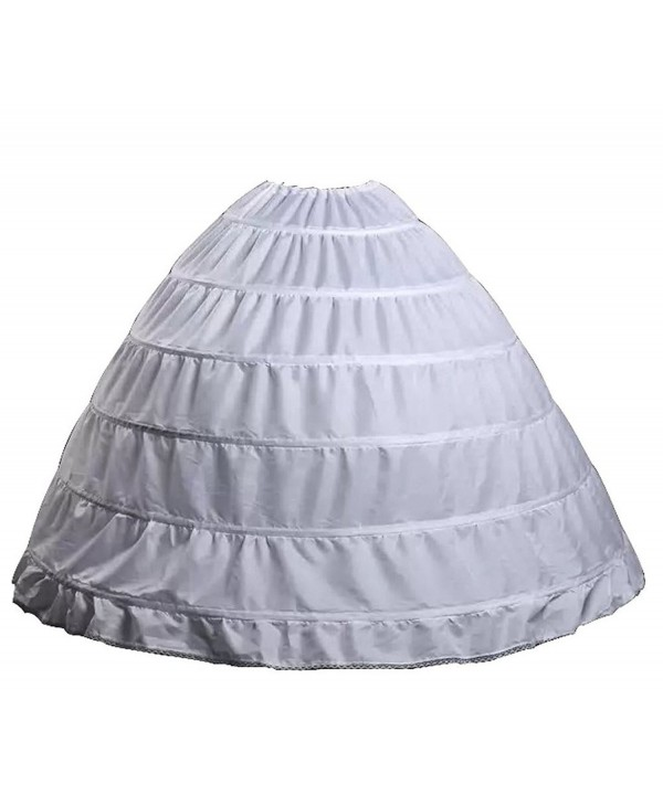 Wantdo Drawstring Wedding Bridal Petticoat