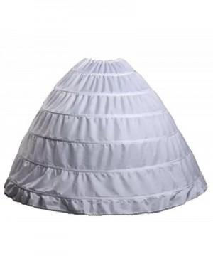 Wantdo Drawstring Wedding Bridal Petticoat