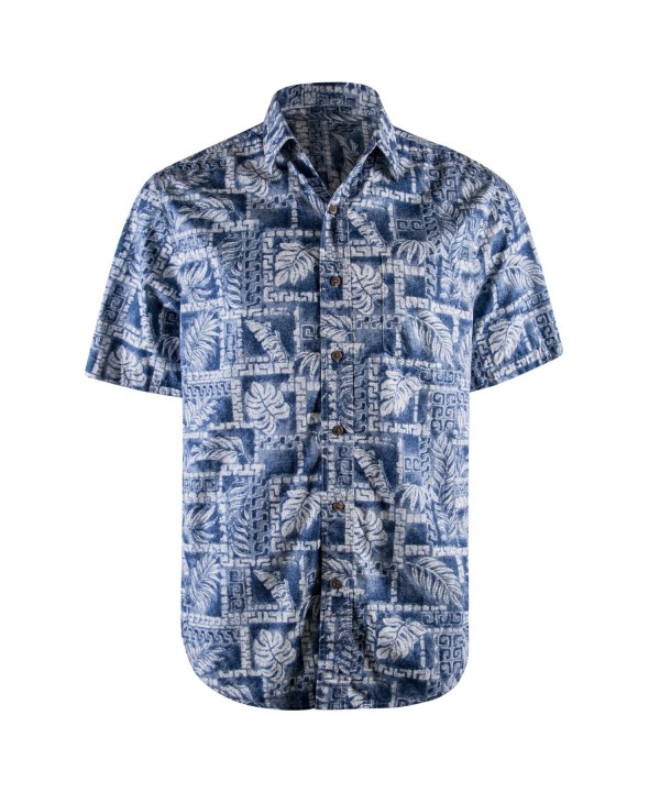 Campia Mens Cotton Print Shirt