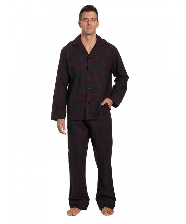 Noble Mount Mens Flannel Pajama