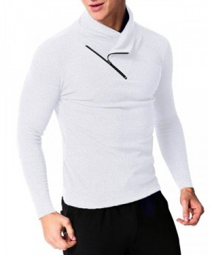 MODCHOK Sleeve Pullovers Turtleneck Sweaters