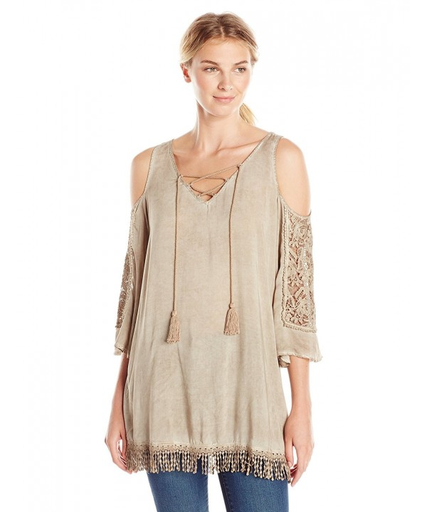 Democracy Womens Mineral Shoulder Crochet