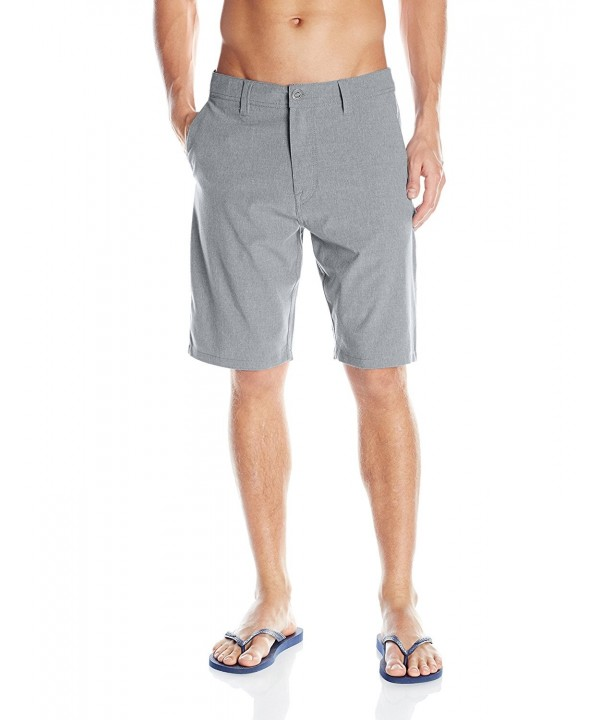 Volcom Faded Hybrid Short Gunmetal