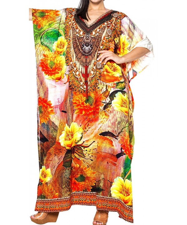 Leela Womens Casual Caftan Digital