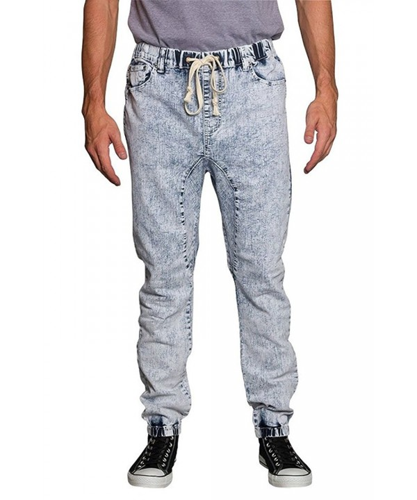 Victorious Crotch Jogger Denim Pants