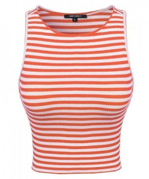 Stripe Stretchy Various colors Coral