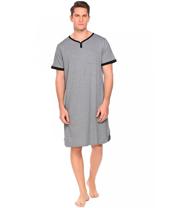 Ekouaer Sleep Sleeve Nightshirt XX Large
