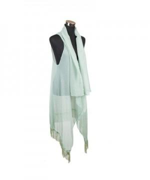 International Chiffon Tassel Kimono Layered