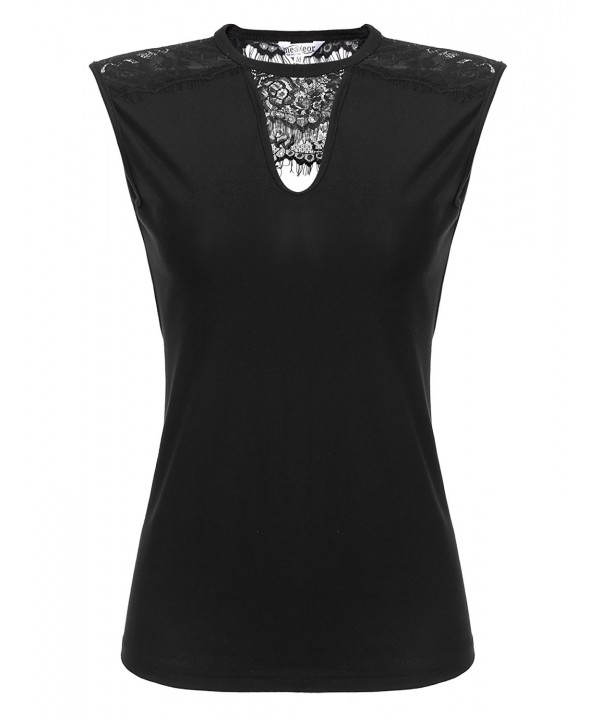 SummerRio Womens Crewneck Sleeveless Shirts