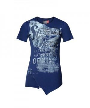 T Shirt Zipper Summer Street Printed