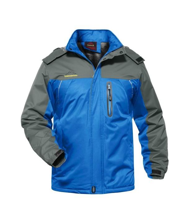 7dc288d1e Men's Sportswear Mountain Waterproof Fleece Ski Jacket Windproof ...