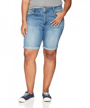 Angels Jeans Womens Curvy Bermuda