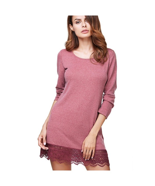 CylyfmiaWomens Sleeve line Casual Dress