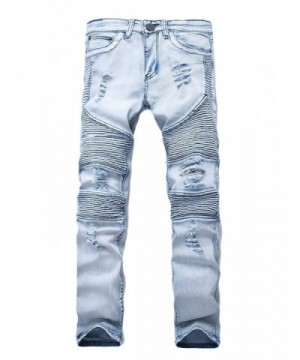 Idopy Hipster Distressed Ripped Washed