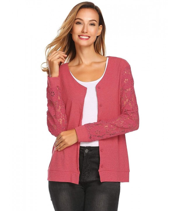 Soteer Womens Lightweight Casual Cardigan