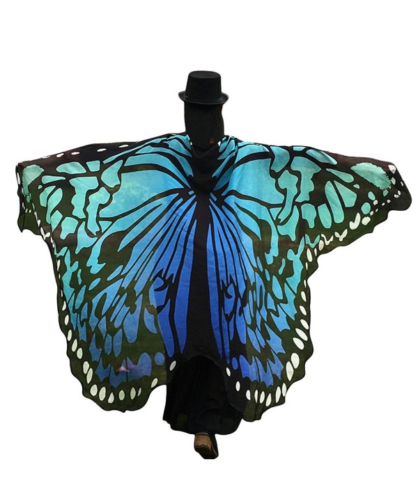 moriposa Butterfly Printing Chiffon Beachwear