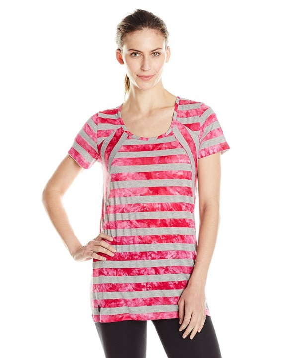 LOLE Womens X Small Rhubarb Stripe
