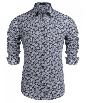 Simbama Paisley Button Shirts Floral