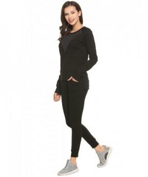 Ekouaer Womens Longsleeve High Sweatshirts