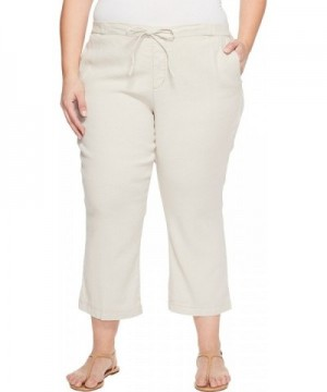 NYDJ Womens Drawstring Ankle Pants
