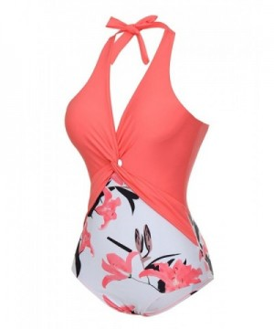 Cheap Designer Women's One-Piece Swimsuits
