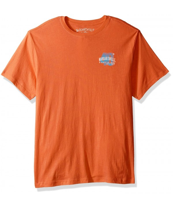 Margaritaville Sleeve Anniversary T Shirt Mandarin